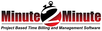 Minute-2-Minute Project Based Time Billing and Management Software